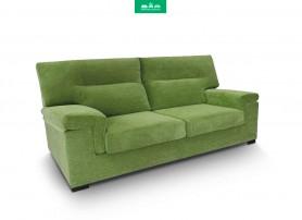 Sofá de 3 Plazas con 2 Relax con chaiselongue ENZO Hamster