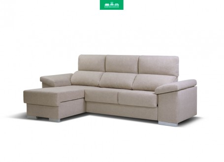 Sofá con Chaiselongue ANETO