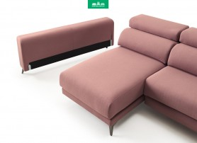 Sofá con Chaiselongue EROS