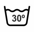 Lavar máximo 30º